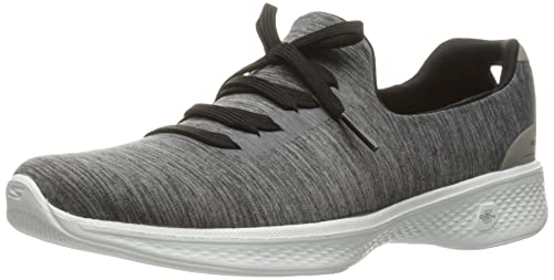 cd7c737905d Skechers Women s Go Walk 4-A.d.c Low-Top Sneakers  Amazon.co.uk ...