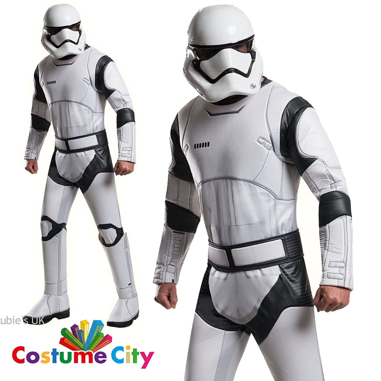 Disfraz adulto Deluxe Stormtrooper Blanco Star Wars VII