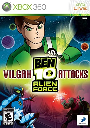 Amazon Com Ben 10 Alien Force Vilgax Attacks Xbox 360 Video Games