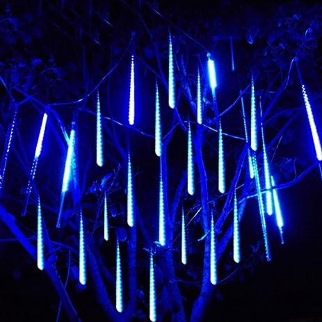 STARSHINE 30cm 10 Tube 300 LEDs Meteor Shower Rain Waterproof String Lights  For Christmas, Wedding