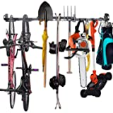 NZACE Tool Storage Rack - Adjustable Wall Mount Tools Storage System Heavy Duty Tools Hanger, Garage shed Basement Workshop S