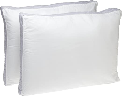 The Big One Quilted Side Sleeper Bed Pillow Overfilled with extra firm support