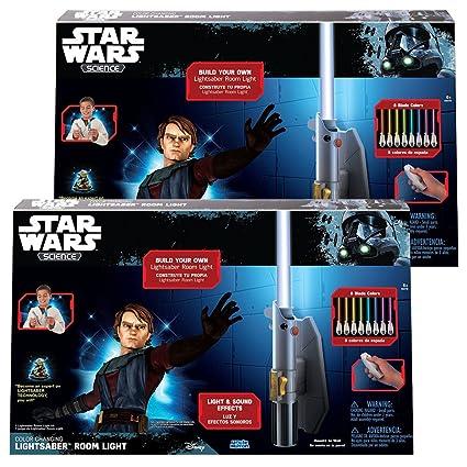 Uncle Milton Star Wars Science Lightsaber Room Light Luke Skywalker Ages 6 Toy