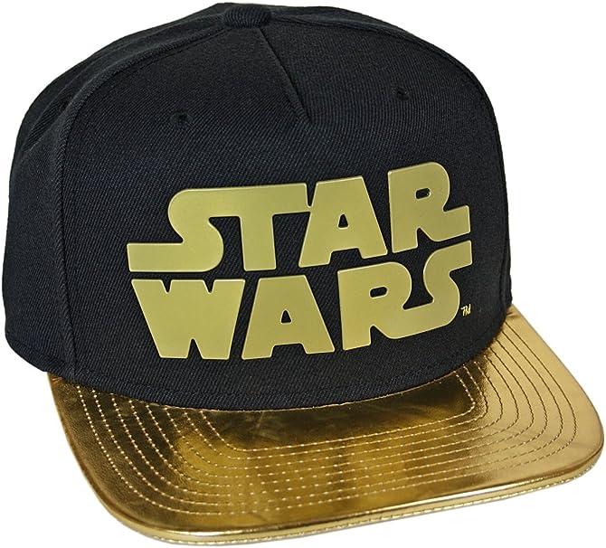 Starter Black Label – Gorra – Star Wars Logo Negro/Oro: Amazon.es ...