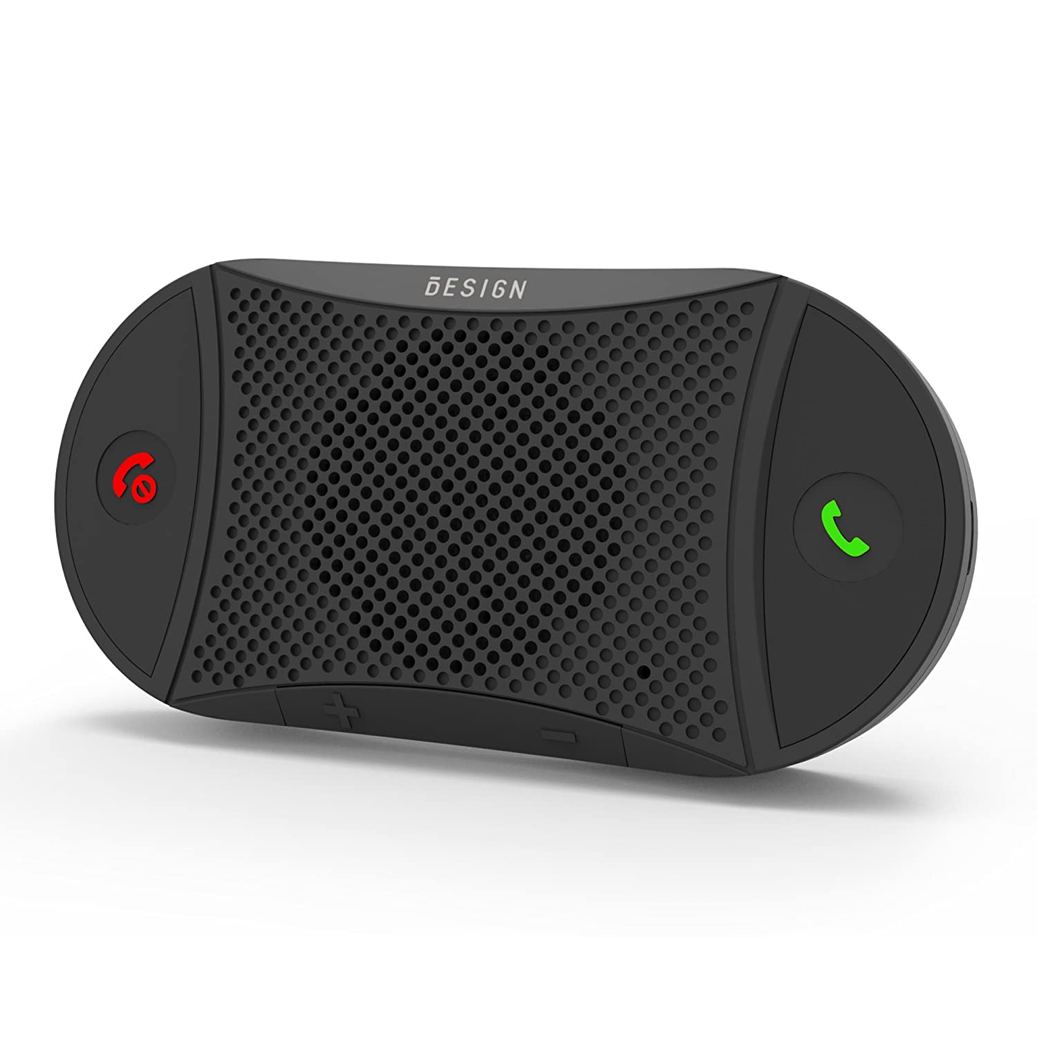 Besign BK02 Bluetooth 4.1 in-car Speakerphone, Wireless Car Kit for Hands-Free Talking & Music Streaming, Connect Two Phones, 2 Years Warranty