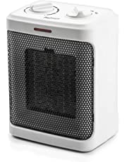 Pro Breeze 1500W Mini Ceramic Space Heater with 3 Operating Modes and Adjustable Thermostat