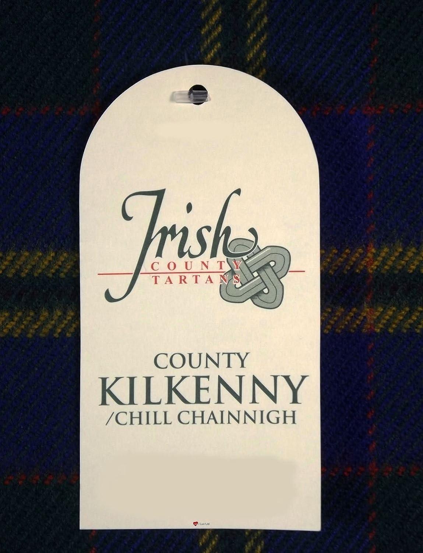 100/% Lambswool Scarf in Irish County Kilkenny Tartan