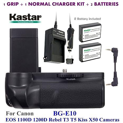 Kastar Pro agarre Vertical de batería (repuesto para BG-E10) + 2 x ...
