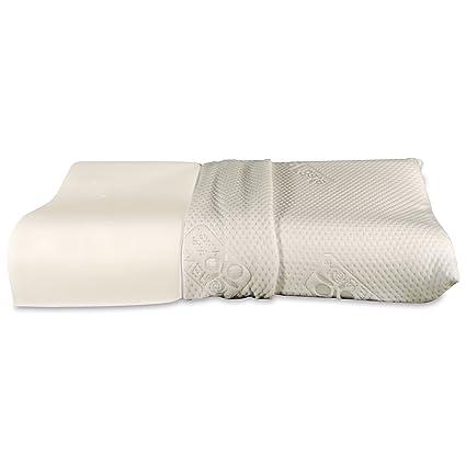Baldiflex Almohada Espuma Viscoelástica - Modelo Ortocervical - funda con fibra de plata Silver Safe