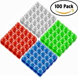 LED Finger Lights, Amazer 100Pack/48Pack Bright Fingers Lights Party Favors Birthday Novelty Toys for Kids Adults (100Pack)