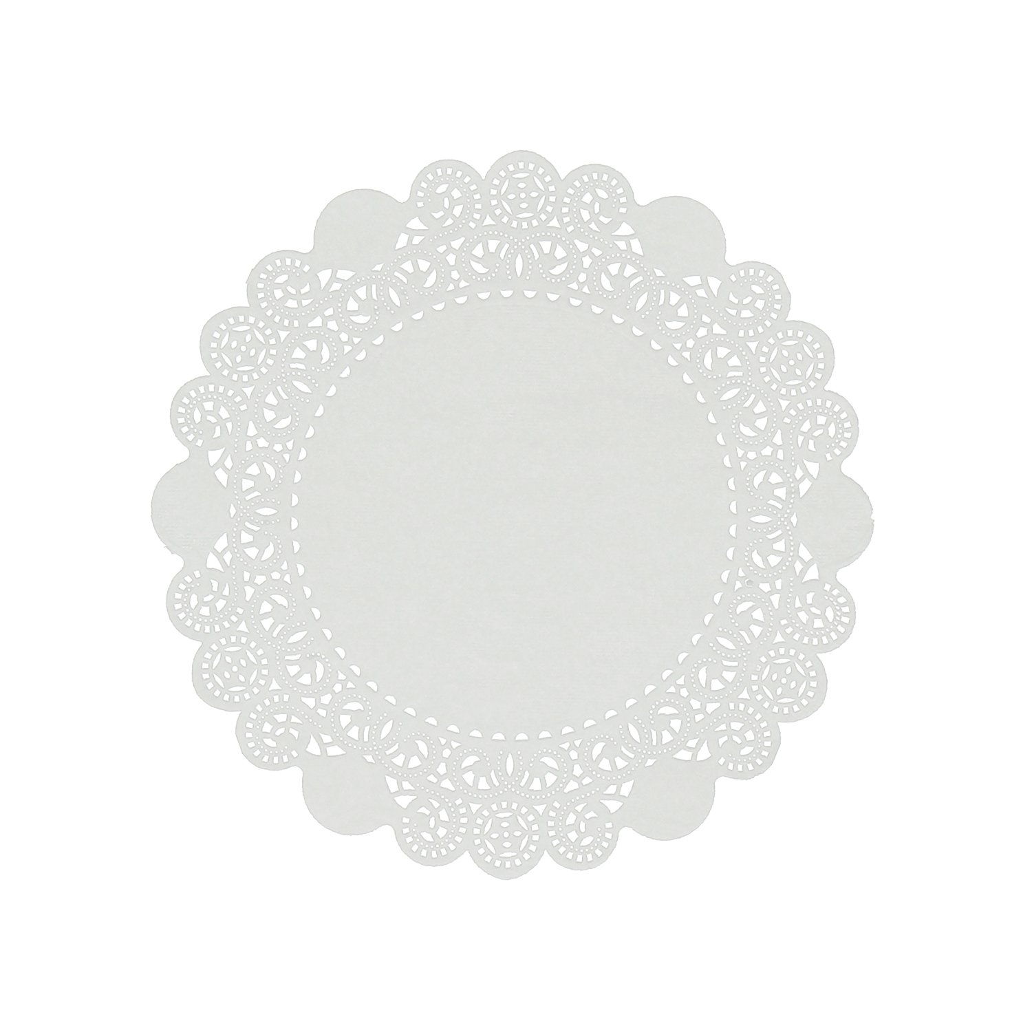 Royal 8'' Disposable Paper Lace Doilies, Package of 500