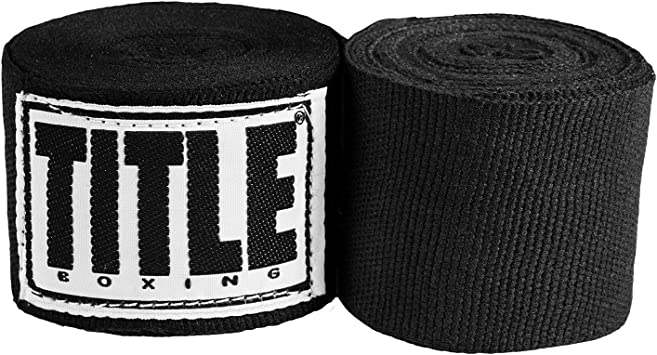Title Boxing Mexican Style Handwraps-Gold