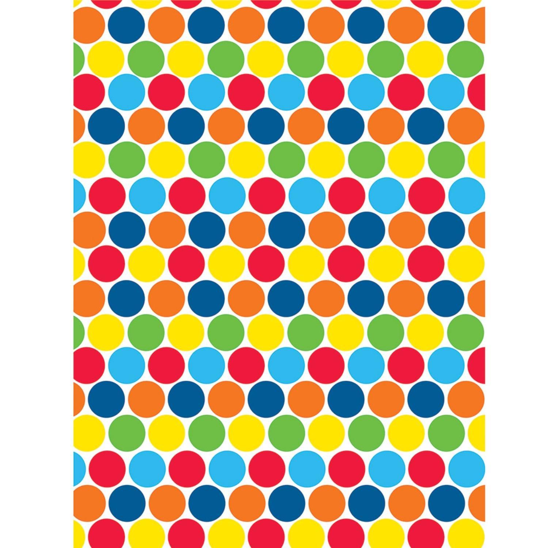 鮮やかな色の水玉模様プリント装飾写真背景幕 15インチ 6枚パック   B07CRY3C9Y