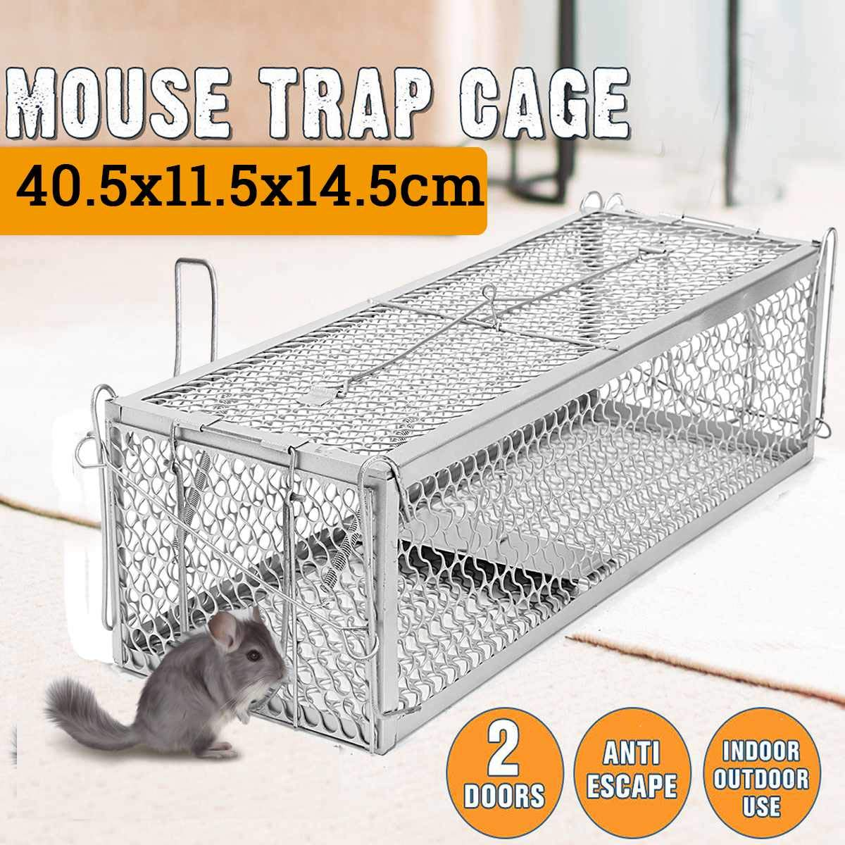 Home Rat Trap Mousetrap Mouse Rodent Repeller Control Catch Bait Hamster Door Mouse Mole Repeller Mice Trap Cage