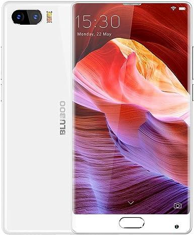 BLUBOO S1 desbloqueado Smartphone 4 GB + 64GB Dual cámaras trasera de identificación de huellas dactilares