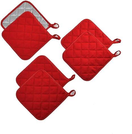 kitchen gift, Red plaid pot holder housewarming gift Quilted Pot Holder Pot holder 9 x 9 wedding shower gift hot pad trivet