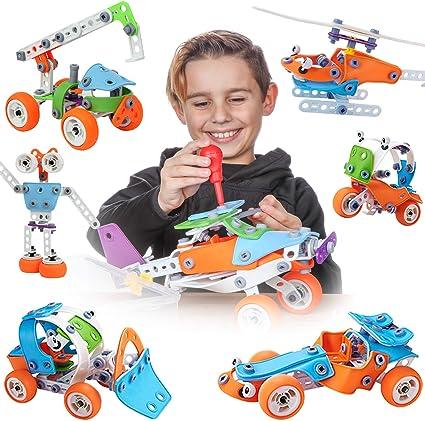 Toy Pal Ctim Juguetes Para Niños De 6 A 8 Años Juego De Construcción De Ingeniería 7 En 1 Kit De Construcción Educativa Para Niños De 6 A 12