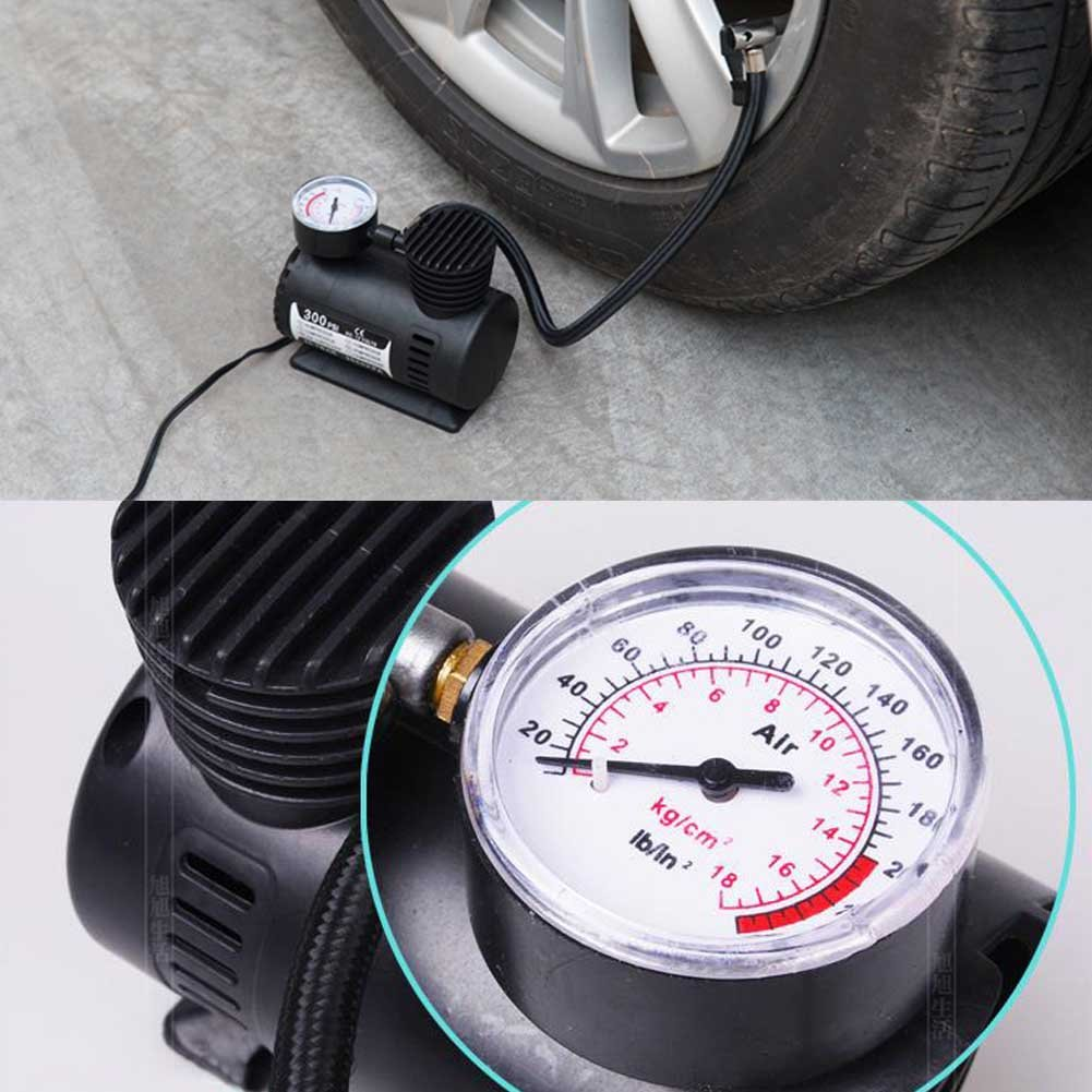 300PSI portátil Compresores Aire Bombas de Aire Aumentador Bomba de inflador de neumáticos neumáticos de inflations de pistola, Mini eléctrico Compresores ...