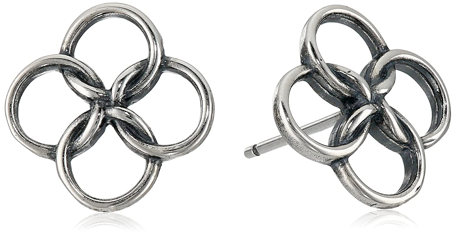 Amazon sterling silver oxidized celtic knot stud earrings jewelry buycottarizona Images