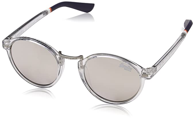 Superdry Copperfill, Montures de Lunettes Femme, Multicolore (Gloss Grey Crystal/Smokemirror), 45