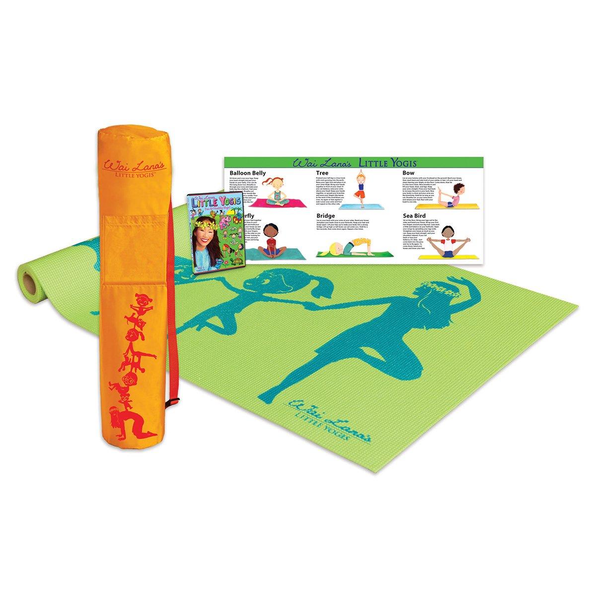 Wai Lana Little Yogis: Little Yogis Eco Tote Kit