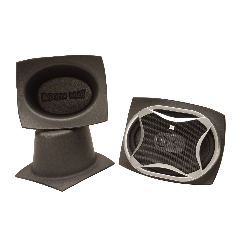 "Design Engineering 050370 Boom Mat Speaker Baffles, 6"" x 8"" Oval"