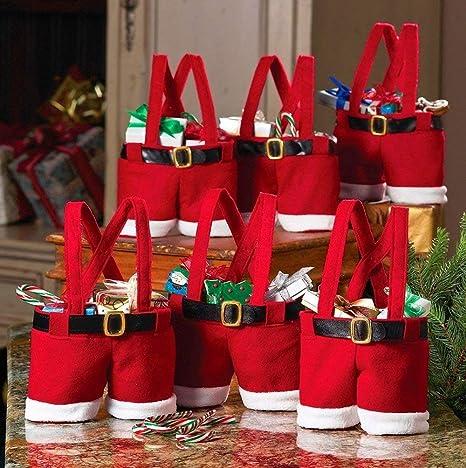 Tonver - Bolsas de Navidad de tamaño grande con asa para ...