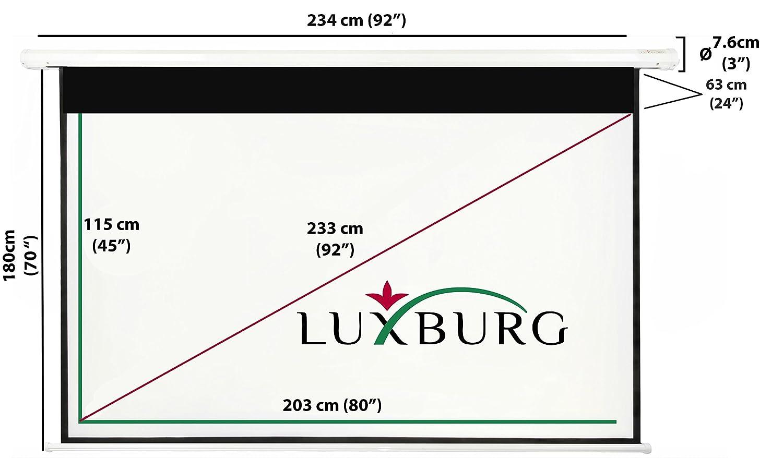 buyinsummer-schermo con telecomando Luxburg/® Full HD 3D