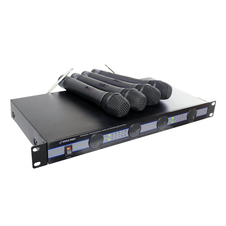 4マイクVHFワイヤレスマイクシステム(PDWM5000) ■並行輸入品■ B0007L8AOK