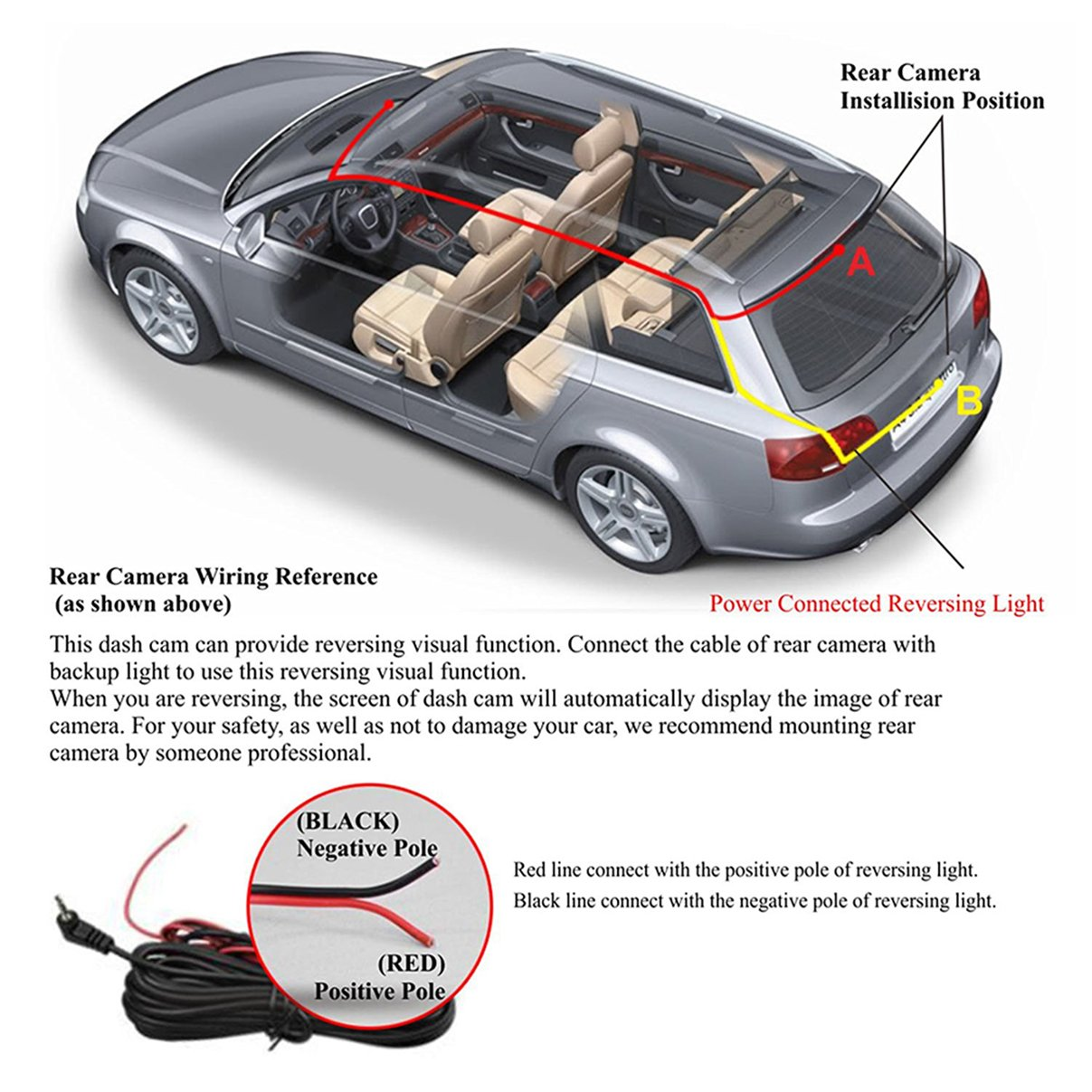 safety dave reversing camera wiring diagram cctv security