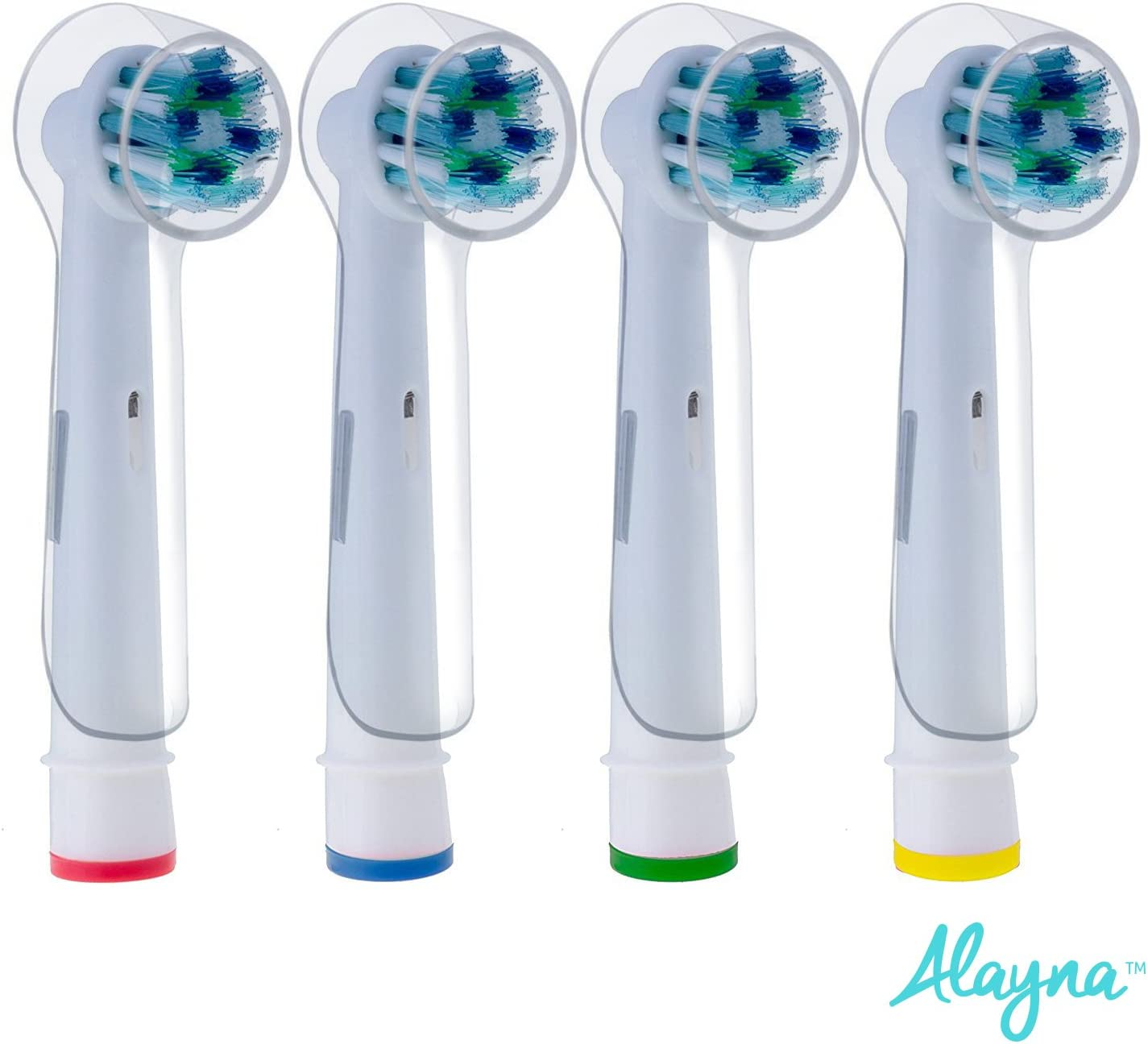 4× Electric Toothbrush Round Head Cover Protective Caps for Oral-B tooth Brushes