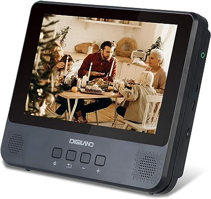 Amazon.com: DigiLand Portable DVD Player/Android Wi-Fi ...