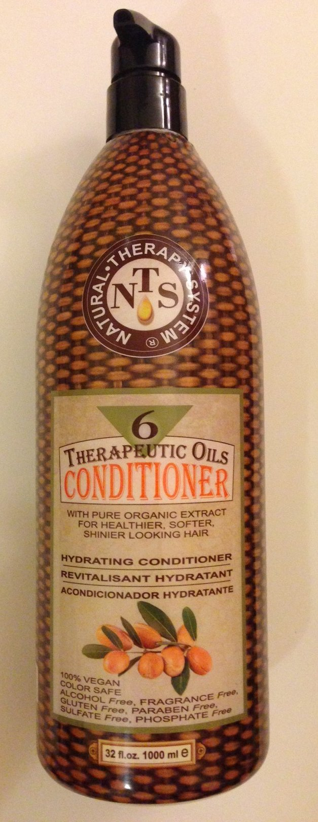 Natural Therapy System Six Therapeutic Oils Conditioner 32 Oz