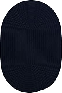 product image for Colonial Mills Home Decorative Boca Raton Oval Rug Navy - 4'x6'