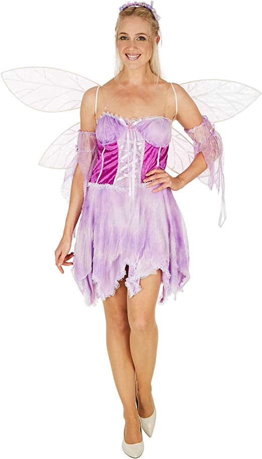 TecTake dressforfun Disfraz de Hada Encantadora para Mujer ...