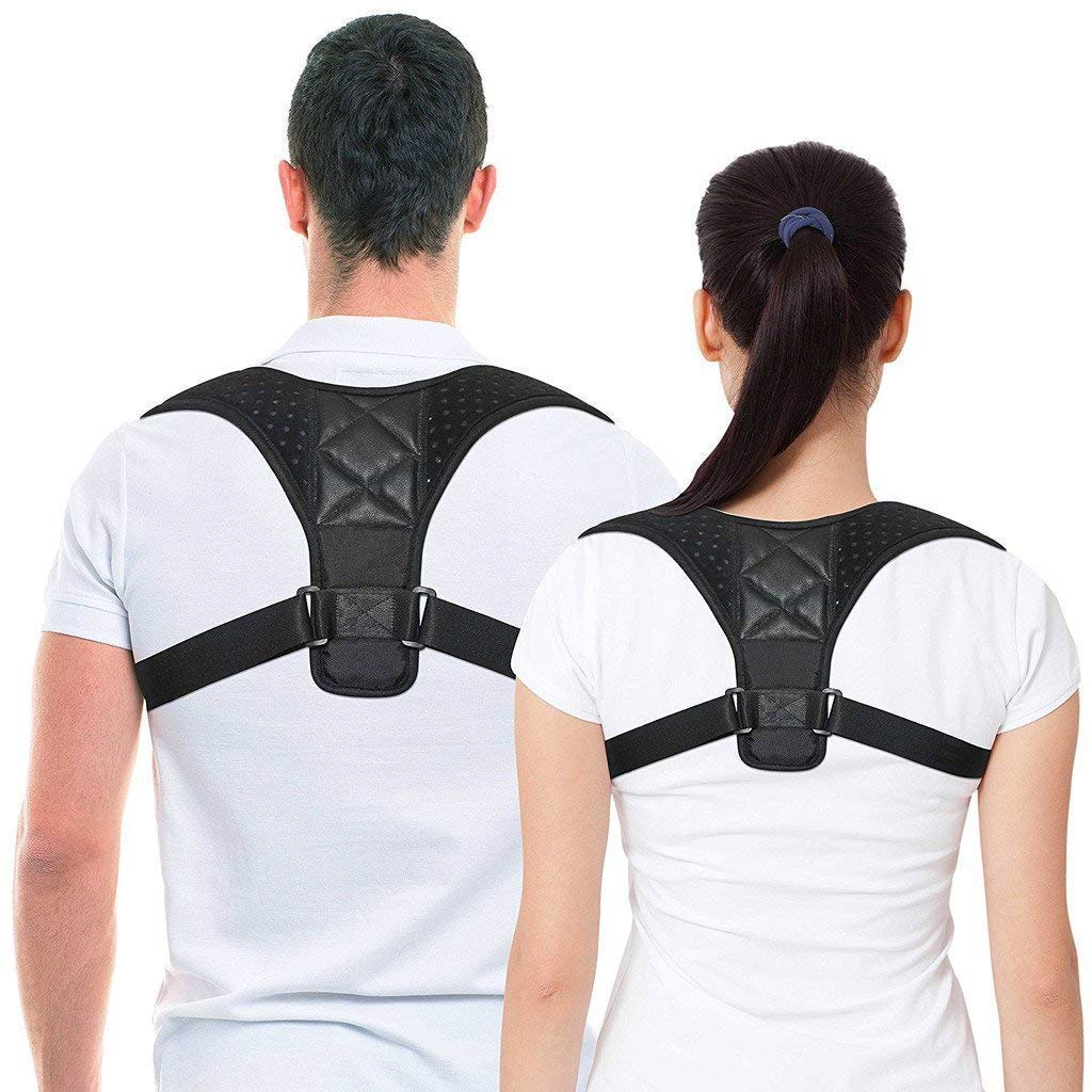 Back Posture Corrector for Men and Women, MESUNKA Adjustable Shoulder Posture Corrector, Posture Support, Kyphosis Brace, Muscle Pain Reliever, Back Pain Reliever