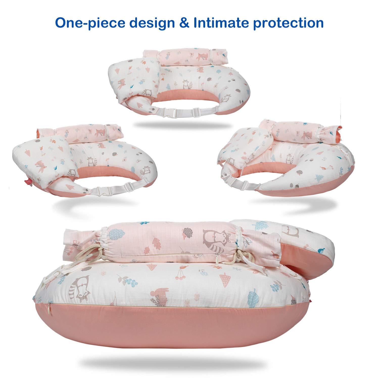 Newborn baby nursing pillow infant cotton milk bottle support pillow cushion VH