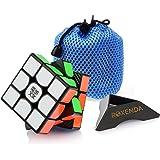 MoYu Weilong GTS 3x3x3 Speed Puzzle Magic Cube Black With a MoYu Cube Bag moyu weilong gts 3x3x3 cube noir avec une vitesse puzzle magique moyu cube sac