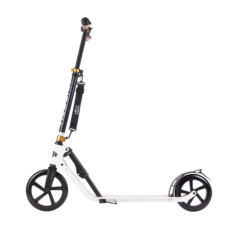 schwarz HUDORA 14235 BigWheel Style 230-Tret-Roller klappbar-Big Wheel City-Scooter