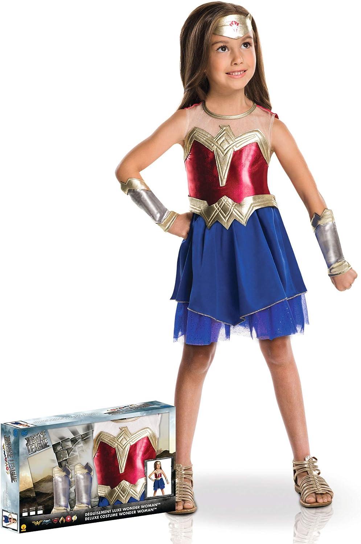 Generique - Disfraz Wonder Woman Caja niña 5 a 6 años (105 a 116 ...