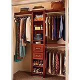 Closetmaid Impressions 16 In. Dark Cherry Narrow Closet Kit 30850