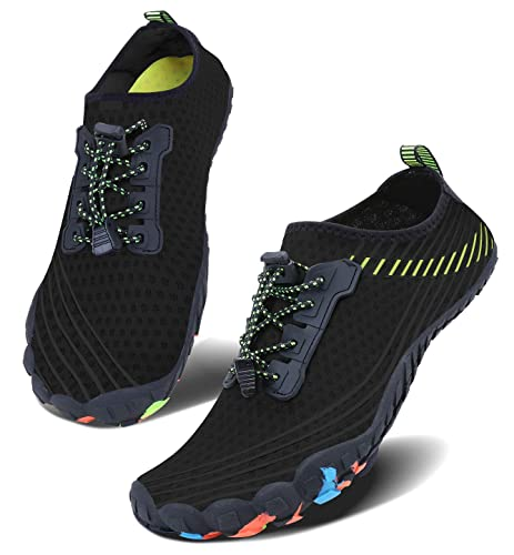 725055a8a285 JointlyCreating Unisex Water Shoes Barefoot Skin Shoes for Run Dive Surf Swim  Beach Yoga