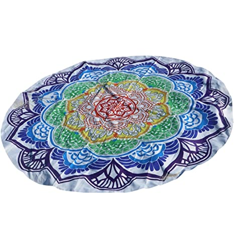 "omiky® 59.0 ""redondo poliéster Lovely Hippie tapiz playa manta toalla, Mandala Boho"
