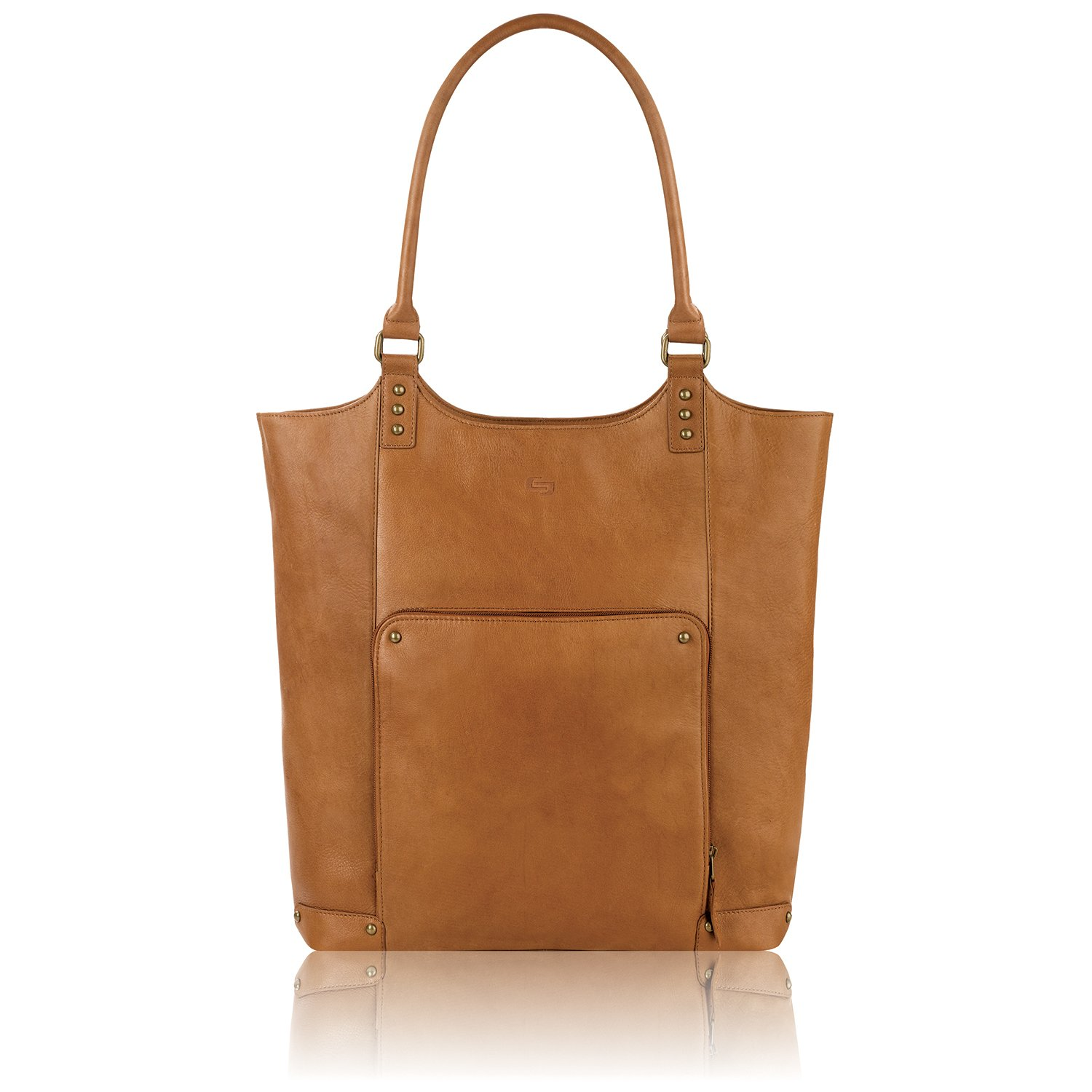 Solo Vestry 15.6 Inch Laptop Bucket Tote, Tan by SOLO (Image #1)