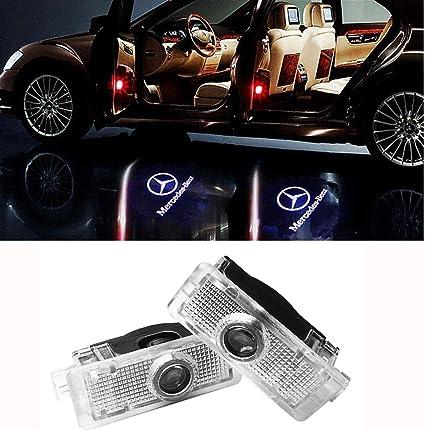 GLK LIKECAR 2 St/ück Autot/ür Logo Einstiegsbeleuchtung Projektion Licht T/ürbeleuchtung Welcome Licht