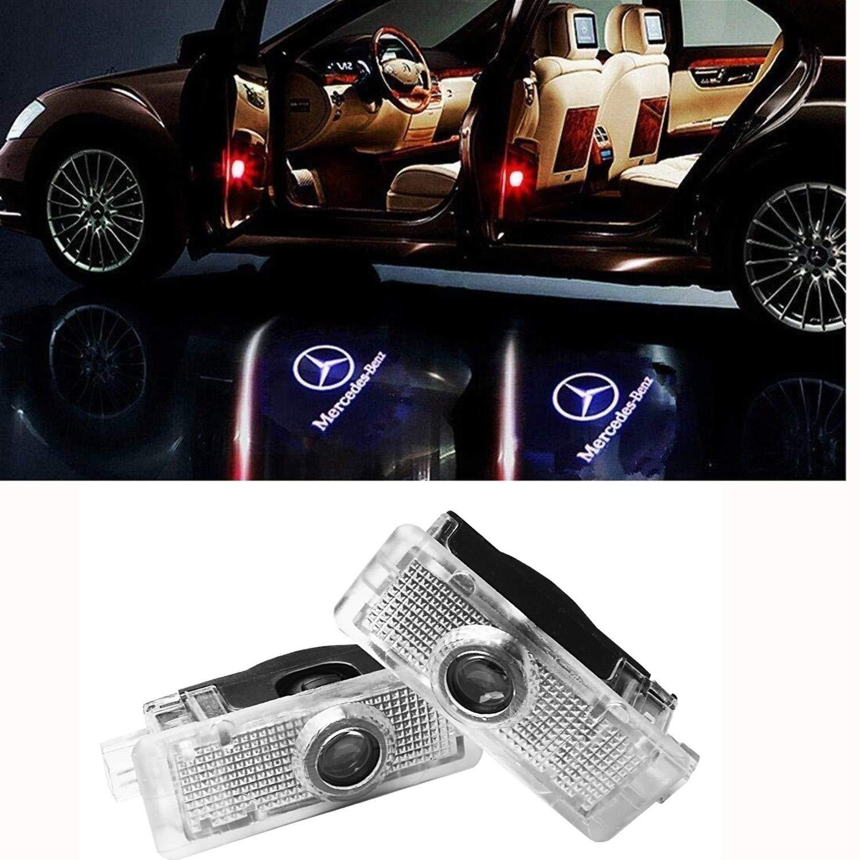 CLA CLK CLS 2 luci di cortesia a LED per portiera auto