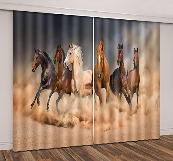 Reviewed: LB Horse Window Curtains