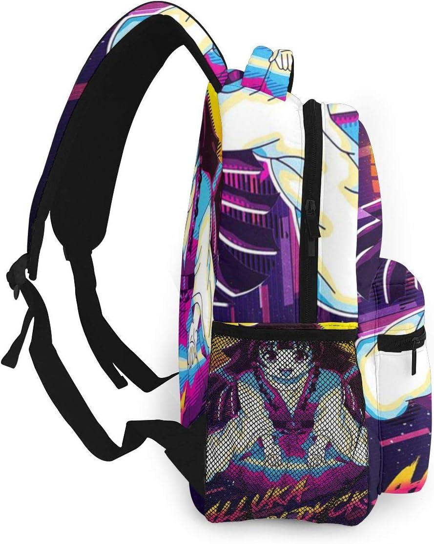 JINZ Anime Alluka Zoldyck Large Capacity Bag Travel Loptop Backpack School Bag Casual Backpack