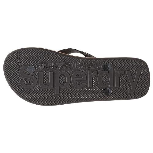 Superdry Cork Flip Flop Tong Femme Noir Taille  Amazon.fr ... 6b3103daac76