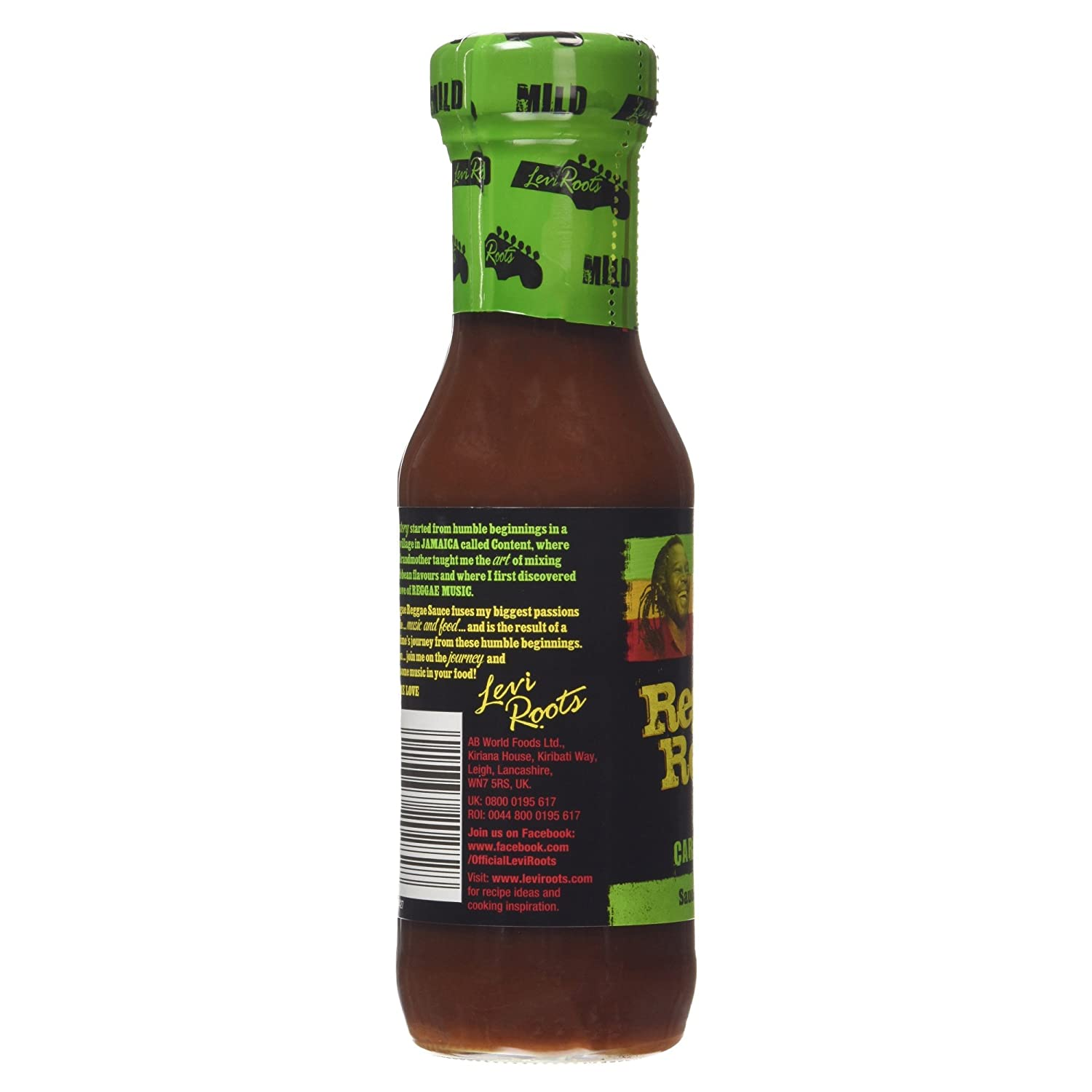 Levi Roots - Reggae Mild Carribean Matryoshka Sauce (E285G): Amazon.es: Hogar